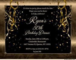 free printable 50th birthday party invitations for men drevio