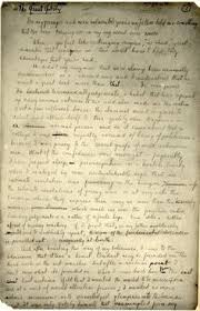 virginia woolf manuscript to the lighthouse part ii de puño y