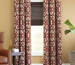 Burgundy Living Room Decor Impressing Buy Burgundy Curtains From Bed Bath Beyond In Maroon