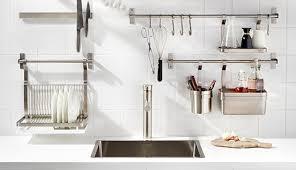 küche aufbewahrung wandschienen hängeaufbewahrung für die küche ikea