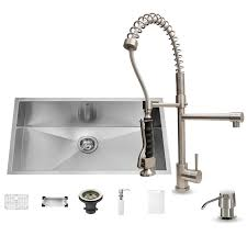 faucet com vg15067 in stainless steel by vigo