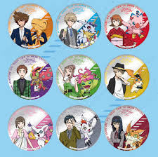 party goods aitai kuji digimon adventure tri cafe in ani on station