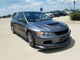 mitsubishi lancer evolution mr in texas for sale used cars on