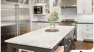 kitchen cabinets with white quartz countertops pros and cons of using white quartz countertops