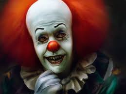 shape shifting pennywise the shape shifting party pooper haunted the children