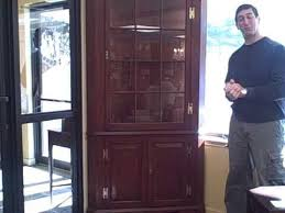 cherry wood corner cabinet furniture spotlight henkel harris cherry corner cabinet piece of