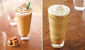 starbucks caramel light frappuccino blended coffee healthiest iced starbucks drinks popsugar fitness
