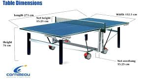 beer pong table size cm ping pong table dimensions catchy folding table tennis table fold n