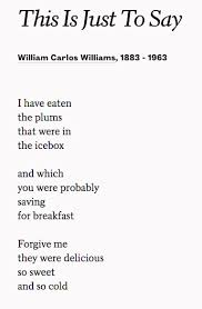 Meme Poem - why this william carlos williams poem is the perfect meme