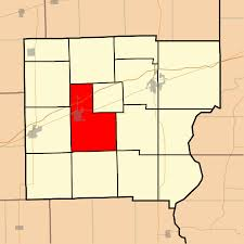 Clark County Zip Code Map by Martinsville Township Clark County Illinois Wikipedia