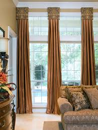 decorative window cornices enhance the look of your room