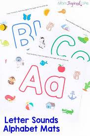 printable alphabet mat letter sounds alphabet mats pin jpg