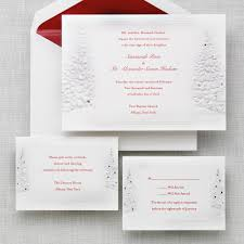 Wedding Invitations With Rsvp Cards Included Winter U0027s Romance Wedding Invitation Winter Wedding Invitations