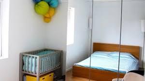 aménager chambre bébé dans chambre parents chambre de bébé décoration et aménagement côté maison