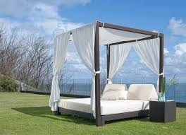 furniture daybeds outdoor outdoor daybed with canopy wicker for