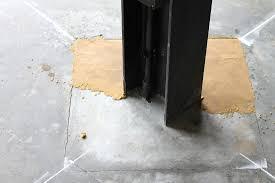 Leveling Uneven Concrete Patio by Stone Bond Construction Inc Epoxy Blog