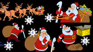 animated santa animated with santa claus by cartoontower videohive