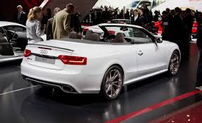 audi s5 convertible white audi rs5 cabrio history photos on better parts ltd