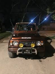 potohar jeep modified to a dad from his son project suzuki sj410 to jimny general