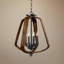 Iron Pendant Light Rustic Lodge Pendant Lighting Lamps Plus
