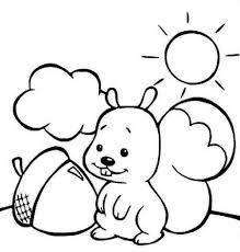 homely ideas preschool fall coloring pages printable autumn for