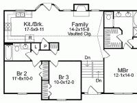 split level home open floor plan homes zone