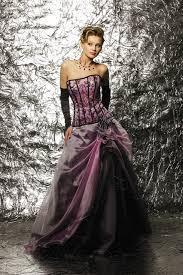 robe de mari e bicolore robe de mariée bustier emouvante lilas glacé fin de collection