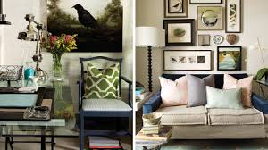 Eclectic Interior Design Interior Design U2013 Cosy U0026 Eclectic Home Office Youtube