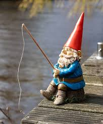 Lawn Gnome by Buy Rien Poortvliet Garden Gnome With Fishing Rod Bakker Com