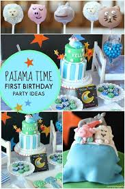 1st birthday party ideas for a pajama time boy s 1st birthday party spaceships and laser beams