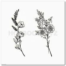 unique wrist tattoo idea hawaiian flower tattoos on foot tattoo