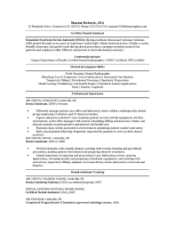 Dental Assistant Resumes Examples by Home Design Ideas Dental Ebitus Handsome Dental Assistant Resume