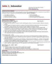 Financial Analyst Resume Template Financial Analyst Resume Sample Creative Resume Design Templates