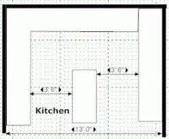 standard kitchen island dimensions kitchen island sizes kitchen