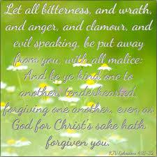 kjv bible verse ephesians 4 31 32 bible pinterest bible