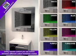 bathroom infinity mirror led infinity bathroom mirror awesome shit you can buy