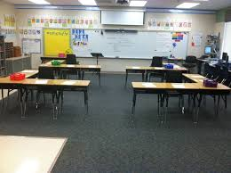 Individual Student Desks I Love The Desk Arrangement In This Classroom Open Group Concept