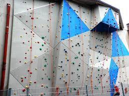 large backyard rock climbing wall portable backyard rock