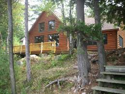 new waterfront log cabin in beautiful homeaway hammond