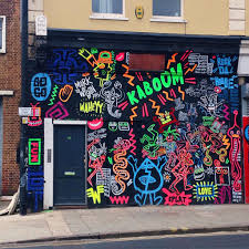 beautiful bristol street art bristol graffiti and street art neon graphic design graffiti street art in stokes croft bristol http yellowfeatherblog