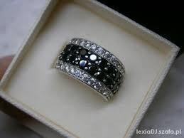 pierscionki apart apart srebrny pierścionek silver black r 15 w pierścionki szafa pl