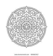 doodle presentations winter doodle seamless pattern tree tea stock vector 343476749