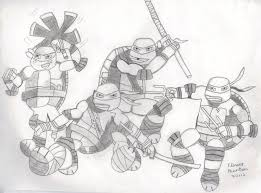 2012 teenage mutant ninja turtles flowerphantom deviantart