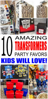 transformer party favors transformers party favor ideas transformer party party favour