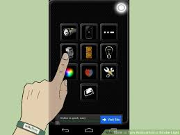 turn android into iphone how to turn android into a strobe light 5 steps with pictures