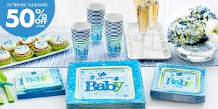 Baby Shower Theme Decorations Welcome Baby Boy Baby Shower Party Supplies Party City