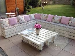canapé exterieur en palette canape exterieur palette salon de jardin en palette gris salon de