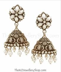 95 best silver jhumkas shopping india images on