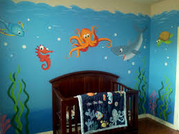 Bathroom Mural Ideas by Wall Mural Noek57 Underwater Landscape Childrens Room Jpg Photo