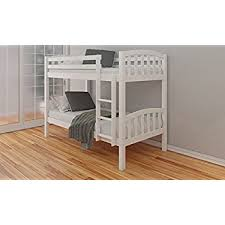Happy Beds Zodiac Bunk Bed Kids Wooden White With  X Spring - Kids wooden bunk beds